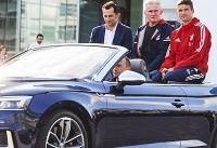 رقابت BMW و آئودی برای قرارداد با باشگاه آلمانی / بایرن مونیخ ماشین خود را عوض می کند!