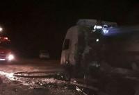 هویت هیچ جسدی از حادثه اتوبوس نطنز-کاشان شناسایی نشد
