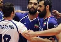 مصاف ایران با آمریکا، بلغارستان و کانادا در مرحله دوم