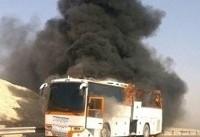 ۱۹ جسد حادثه تصادف نطنز به پزشکی قانونی اصفهان تحویل داده شد