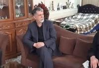 دیدار صالحی با پیشکسوت تعزیه ایران |  عکس