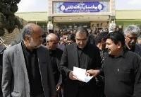 وزیر بهداشت از مراکز درمانی شهرستان خاتم یزد بازدید کرد