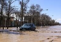 هشت استان درگیر سیل و طوفان