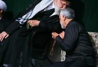 بوسه رهبر بر سر سردار سلیمانی (عکس)