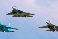 جنگندههای ارتش و سپاه برای رژه ۳۱ شهریور در بندرعباس تمرین کردند