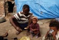 خطر قحطی ۵ میلیون کودک یمنی را تهدید میکند