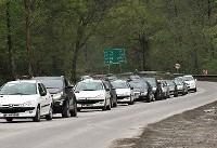 ترافیک در آزادراههای قزوین-کرج/بارش باران در همه محورهای استان های نوار شمالی