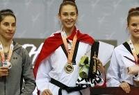 مدال نقره دختر ایرانی برای بلژیک