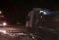 هویت ۱۹ جانباخته تصادف اتوبوس مسافربری در آزادراه نطنز - بادرود احراز شد
