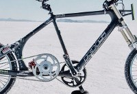 ثبت رکورد دوچرخه سواری با کاهش میزان مقاومت باد (+فیلم و عکس)