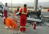 سه کشته در حادثه جادهای استان البرز
