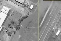 اسرائیل تصاویر حملات اخیرش به سوریه را منتشر کرد