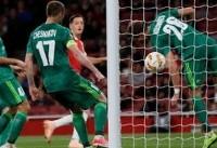 برتری آرسنال میلان، چلسی، لاتزیو و سوویا برابر رقبا در لیگ اروپا