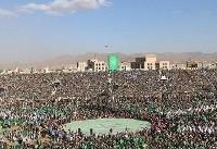 راهپیماییهای بزرگ عاشورای حسینی (ع) در Â«صعده» و Â«صنعاء» یمن