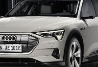 2019 Audi E-Tron Electric SUV Looks to Take On Tesla Model X