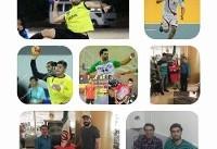 قرارداد ۸  ملیپوش ایران با تیم هندبال فراز بام خائیز دهدشت