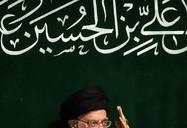 آخرین شب مراسم عزاداری حضرت اباعبدالله الحسین علیهالسلام در حسینیه امام خمینی(ره)