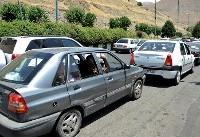 ترافیک در ۵ محور منتهی به تهران سنگین است/ مه گرفتگی در جادههای قزوین و اردبیل