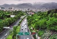 بارش باران در ۵ استان / گرد و غبار در راه تهران و ۶ استان دیگر