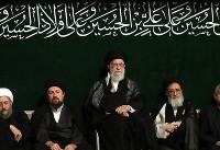 آخرین شب مراسم عزاداری حضرت اباعبدالله الحسین(ع)با حضور رهبر انقلاب برگزار شد