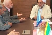رسیدگی به مشکلات ۴۲ شهروند هرمزگانی در دیدار مردمی رئیس کل دادگستری استان