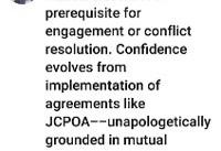 ظریف: تعامل نیازمند پایبندی به تعهدات است