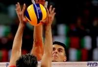 شکست تلخ والیبال ایران برابر بلغارها در آغاز دور دوم قهرمانی جهان ۲۰۱۸