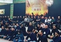 برگزاری مراسم عزاداری امام حسین (ع) در لاهه