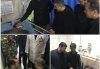 معاون وزیر بهداشت و روسای سازمانهای اورژانس و انتقال خون به اهواز رفتند