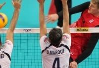 ناکامی تیم ملی والیبال ایران با شکست برابر کانادا در رقابتهای جهانی