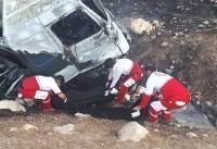 خوابآلودگی راننده نیسان در خراسانشمالی ۲ کشته بر جا گذاشت