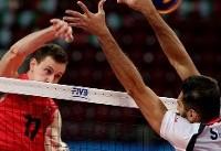 هوگ و پرین بهترین بازیکنان دیدار والیبال ایران با کانادا