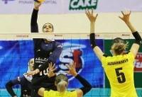 شکست بانوان والیبالیست ایران مقابل استرالیا/ جایگاه هفتمی هم از دست رفت