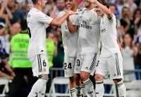 برد خفیف رئال مادرید در لالیگا