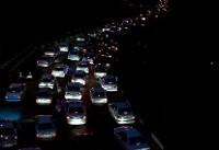ترافیک سنگین در ورودی های تهران/ ۷ محور پرترافیک