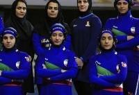 قهرمانی زنان کشتیگیر ایران در تورنمنت بینالمللی لبنان
