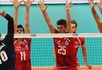 پرونده تیم ملی والیبال ایران با شکست مقابل آمریکا بسته شد