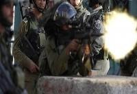 شهادت یک فلسطینی و زخمی شدن ۱۴ نفر در شرق غزه
