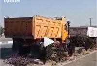 کامیونداران در ایران دوباره اعتصاب کردند