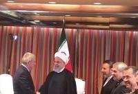 رئیس کمیته بین المللی المپیک با رییس جمهوری دیدار کرد