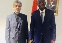 استقبال وزیر بازرگانی ساحل عاج از ارتقاء روابط تجاری و اقتصادی با ایران