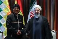 دیدار رییس جمهور بولیوی و رییس اجرایی دولت افغانستان با حسن روحانی