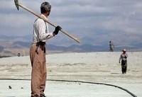 عملیات نجات دریاچه ارومیه از چنگ غبار