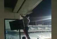 تمهید ویژه وزیر ارتباطات برای تماشاگران دربی/عکس