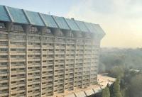منشا دود اطراف هتل لاله اعلام شد