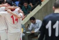 تیم ملی فوتسال با شکست اوکراین قهرمان شد/ رستگاری در ثانیه پایانی