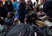 اهدای ۹۵۰۰ بسته لوازمالتحریر به دانشآموزان در منطقه زلزلهزده سرپل ذهاب