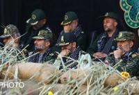 تشییع پیکر ۲شهید گمنام دفاع مقدس در مقر یگانویژه +عکس