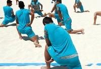 ملیپوش جوان فوتبال ساحلی: دوست دارم آن قدر قوی شویم که برای برزیل خط و نشان بکشیم