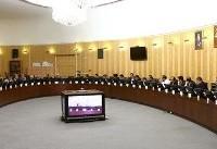 بررسی تحریمها و سهمیهبندی بنزین در نشست سه فراکسیون سیاسی مجلس با لاریجانی